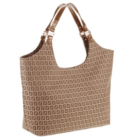 Fendi Beige Shopper